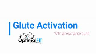 Glute activation - How to perform a banded side-step