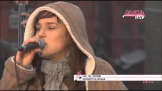 ZAZ - Je Veux (Live) До///дь. Концерт на крыше