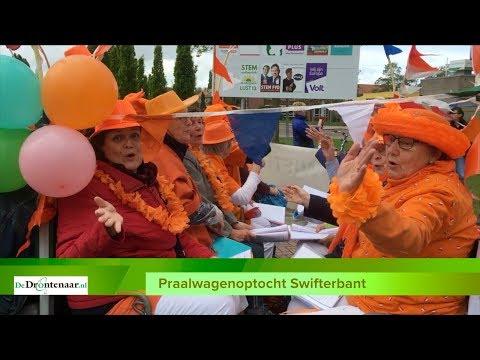 VIDEO | Swifterbant viert 'ouderwetse' Koningsdag met mooie praalwagenoptocht