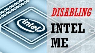 DIY: Disabling Intel ME
