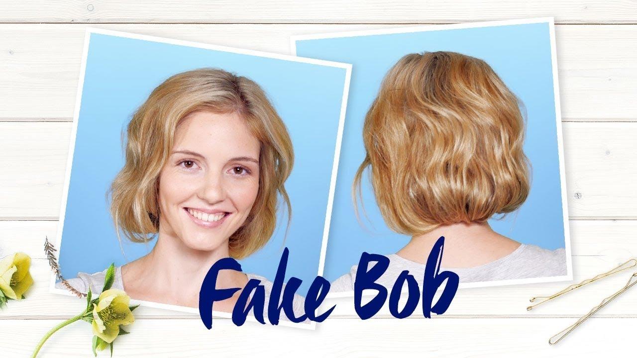 Fake Bob So Schummeln Sie Lange Haare Kurz