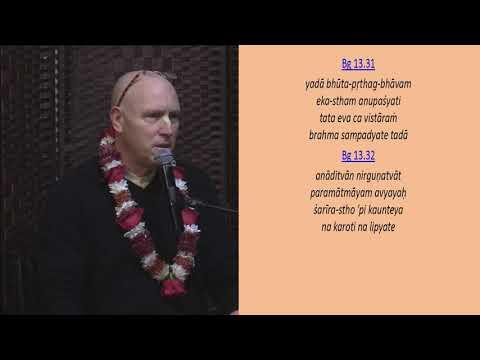 Krishna is Equal to Everyone by HG Vaisesika Prabhu, 12.01.18