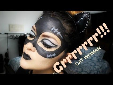 CAT WOMAN MAKEUP / GATUBELA/HALLOWEEN MAKEUP