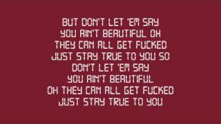 Eminem - Beautiful [Explicit] (w/ Lyrics)