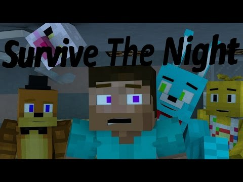 &quotSurvive The Night&quot (FULL MINECRAFT ANIMATION)