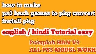 PS3xploit v3 HAN - Backups Games Install  PKG On Super Slim -Slim