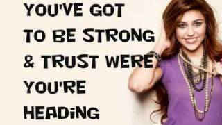 Hannah Montana - Love That Let's Go ft. Billy Ray Cyrus (With lyrics)