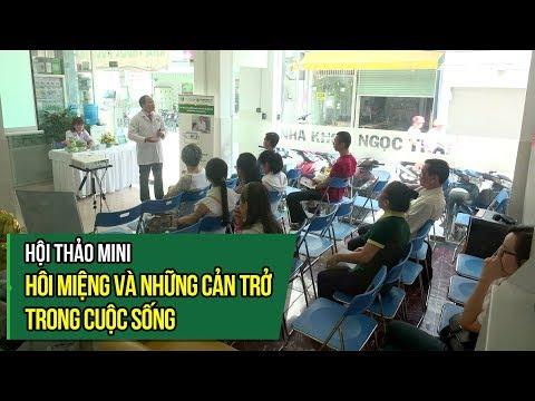 Hội thảo mini Hôi miệng và những cản trở trong cuộc sống tại nha khoa Ngọc Trai