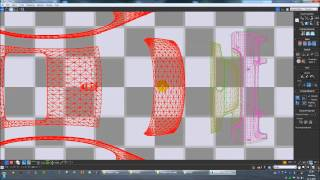 How to make a car template in 3dsmax