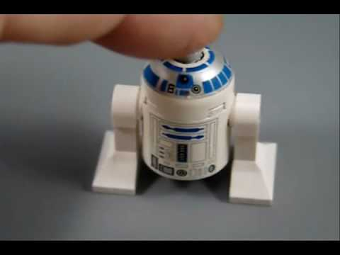 Lego R2-D2 Minifig Mod Adds Sound And Light