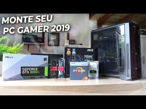 Como MONTAR um Computador (PC Gamer) Passo a Passo - TUTORIAL 2019