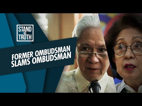 [GMA]  Stand for Truth: Former Ombudsman, may buwelta sa aksyon ni Ombudsman Martires!