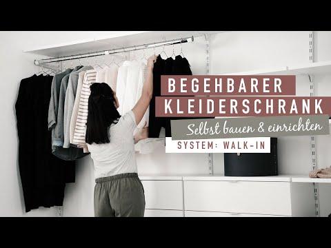 WALK-IN Regalsystem Offener Kleiderschrank