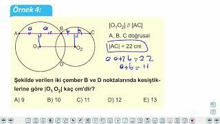 Eğitim Vadisi 11.Sınıf Matematik 12.Föy Çember ve Daire 1 (Çemberin Temel Elemanları) Konu Anlatım Videoları