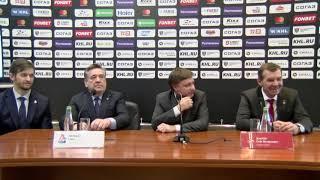 Пресс-конференция «Спартак» - «Локомотив»