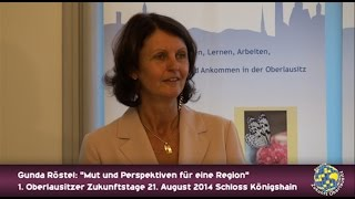 preview picture of video 'Gunda Röstel - 1. Oberlausitzer ZukunftsTage'