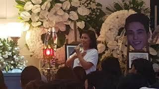 """Yeng Constantino Inalay Ang Awit na """"Salamat"""" Para Kay Franco Hernandez"""