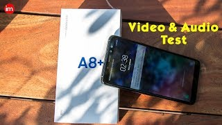 Samsung A8 Plus Video and Audio Test By Ishan