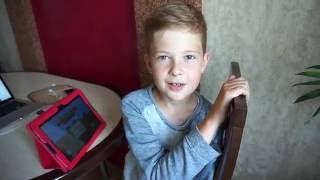 Майнкрафт / Первое видео / Игры на планшете