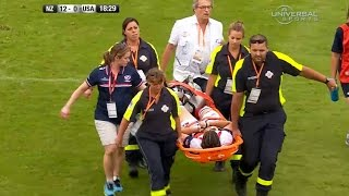 Broken ankle for American Rugby Captain Kate Daley - Universal Sports