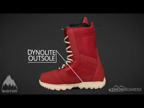 Video: 2017 Burton Invader Mens Boot Overview by SnowboardsDotCom