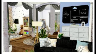 The Sims 4 | House Build | Single Mother Studio Apartment +  CC Links (Story Time)