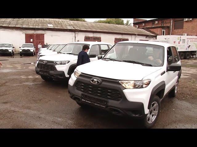 Медицинские организации Иркутской области получили 54 новых автомобиля