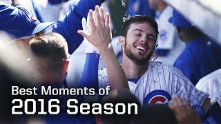 MLB Chicago Cubs Best Moments of 2016 Regular Season - Season Highlights