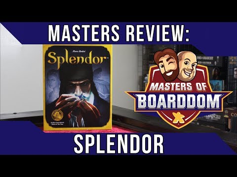 Splendor Review - Masters of Boarddom