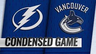 12/18/18 Condensed Game: Lightning @ Canucks
