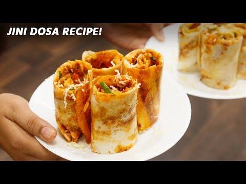 , title : 'Jini Dosa Recipe - Cheese Mumbai Street Pizza Bhaji Gini Dosa CookingShooking