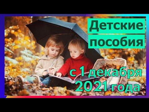 Пособие в 10 000 рублей. Детские пособия с 1 декабря. Новые детские выплаты