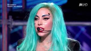 Lady Gaga - The Edge of Glory / Judas X FACTOR France