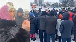 Митинг вместо курултая. Астана. 9.02.2019 / БАСЕ