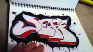(old)Graffiti: Progress Report. First Pieces To Newest Pieces (