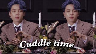 Jimin imagine| Cuddling with Jimin+ Bonus.