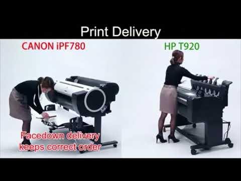 CANON IMAGEPROGRAF IPF780 VS HP DESIGNJET T920 T730