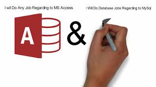 32557I will develop ms access or SQL database projects