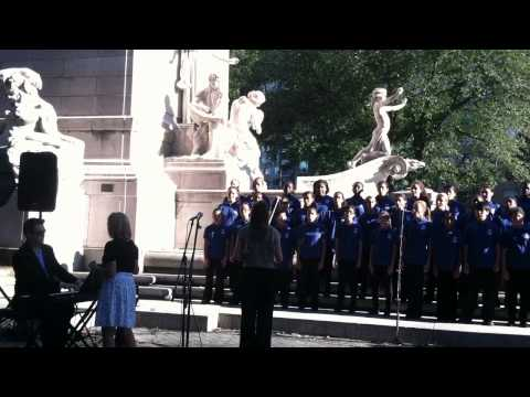 YPC performs at The September Concert, Central Park NYC 2011