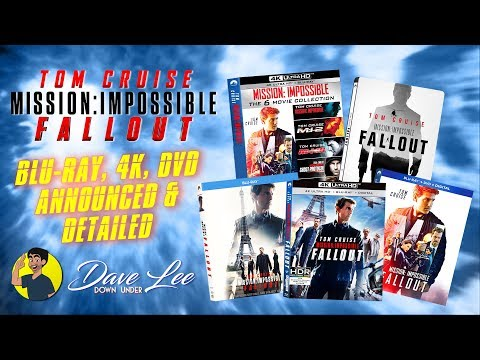 MISSION IMPOSSIBLE: FALLOUT - Blu-ray, 4K, DVD Announced & Detailed