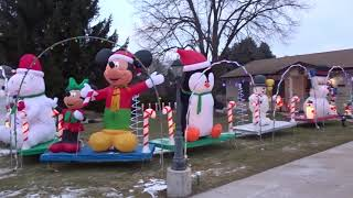 2018 Ott Family Christmas Display