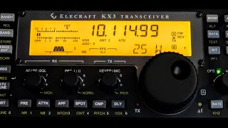 CW (Morse Code) QSO On 30m