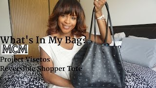 What's In My Bag? | MCM Project Visetos Reversible Shopper Tote