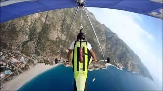 Hardcore Hang Gliding :)