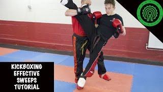 Kickboxing Effective Sweeps Tutorial
