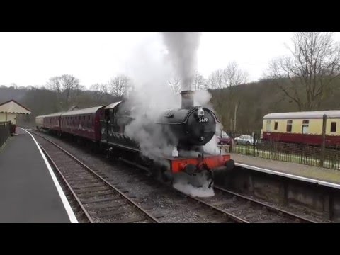 Churnet Valley Railway Winter Steam Gala Saturday 27th Febru…
