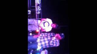 Dom Kennedy freestyle to girl on stage