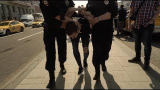 5 мая: стравливание, разгон и массовые задержания в Москве ©AFP