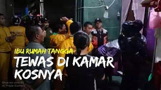 Seorang Wanita Ditemukan Tewas di Kamar Kos di Surabaya, Polisi Temukan Beberapa Luka Tusuk