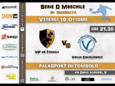 Preview video 3° GIORNATA: VIP c5 Tombolo - Virtus Castelfranco 3-0